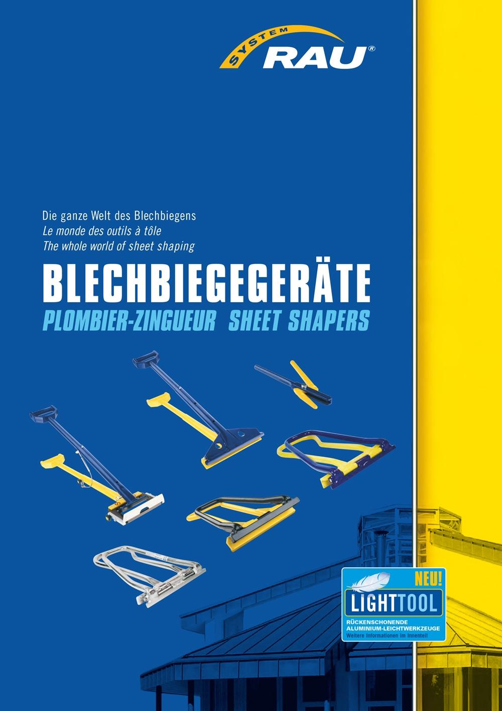 RAU Katalog Blechbiege 2015